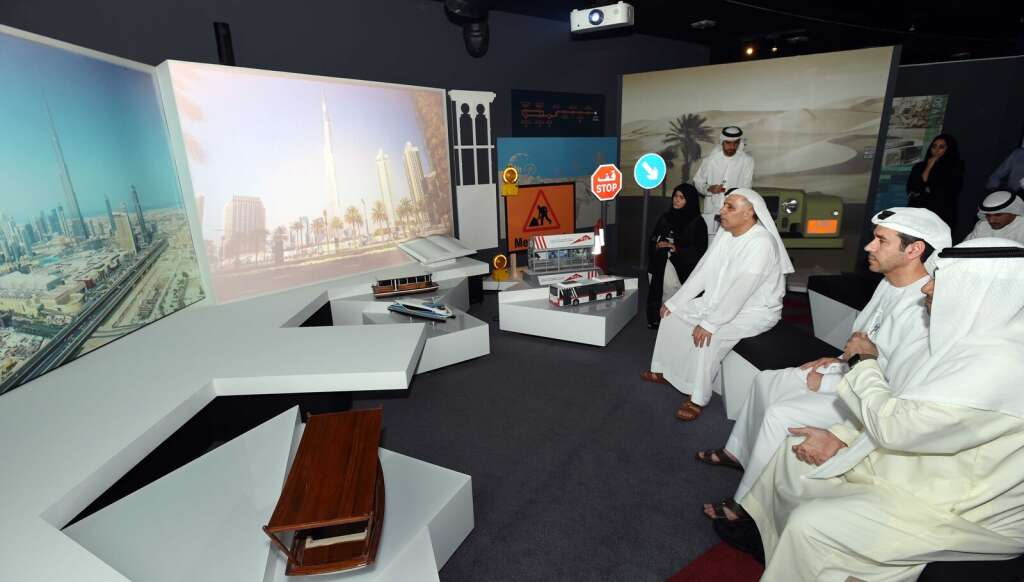 From mules to swanky Metro: Dubais transport evolution now in a museum