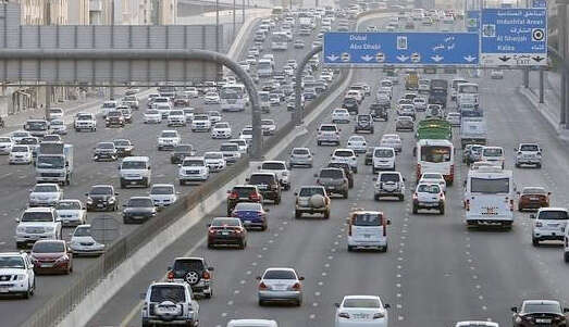 Five-vehicle crash causes delays on Sheikh Zayed Road