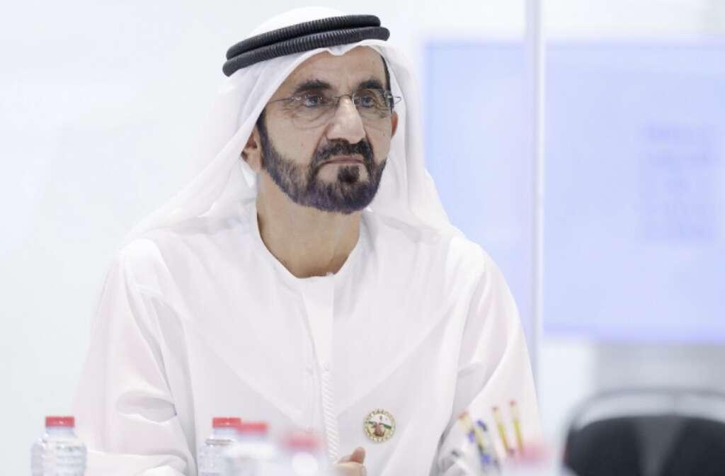 His Highness Shiekh Mohammed bin Rashid Al Maktoum, Vice-President and Prime Minister of the UAE and Ruler of Dubai.- Wam