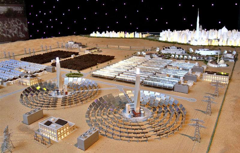 Solar park desalination plant nearing completion