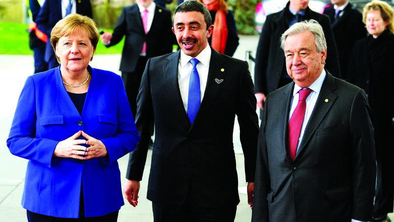 No further military support: Berlin meet backs Libya truce