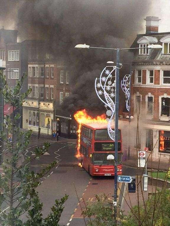 WATCH: Explosion in bus rocks London