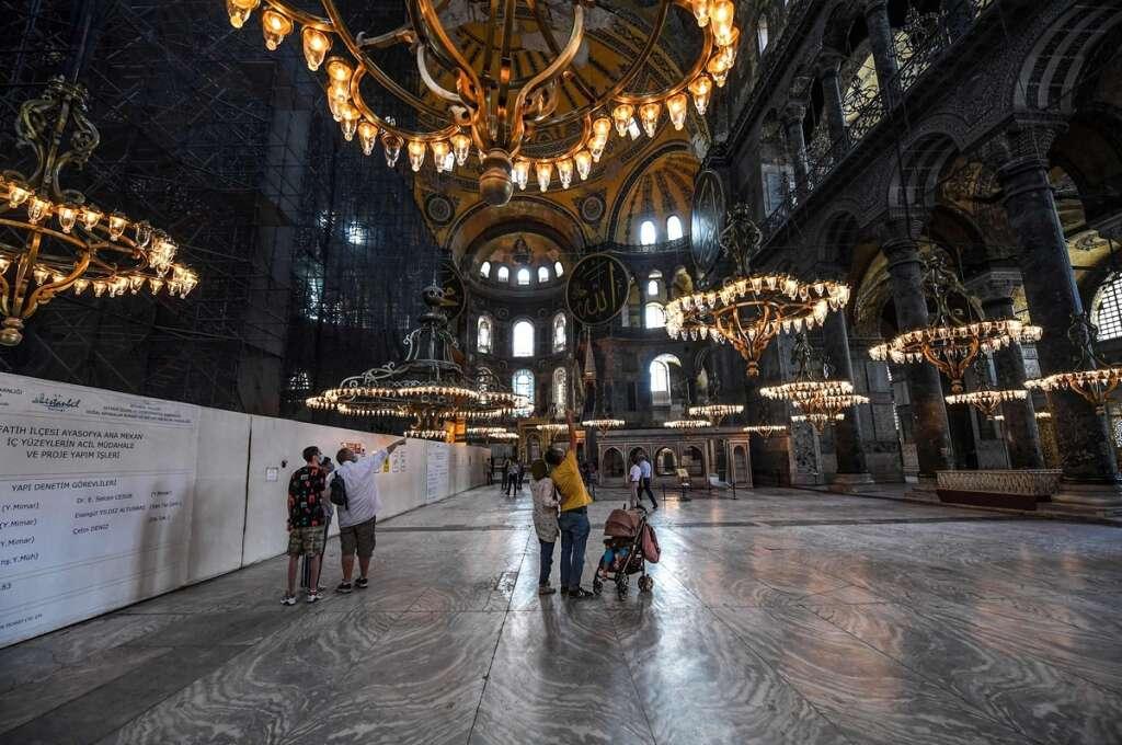 Hagia Sophia, Museum, Mosque