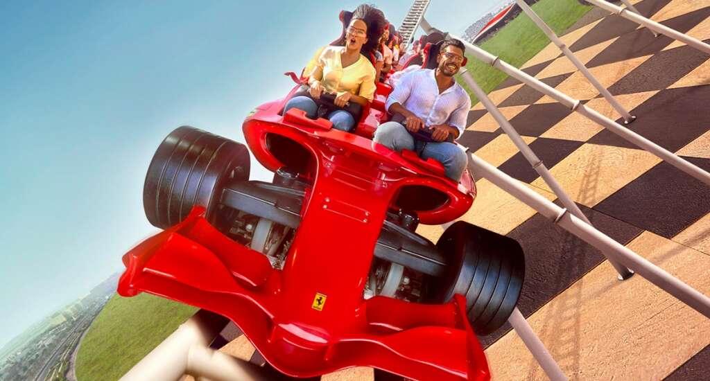 Ferrari World Abu Dhabi, virtual roller coaster