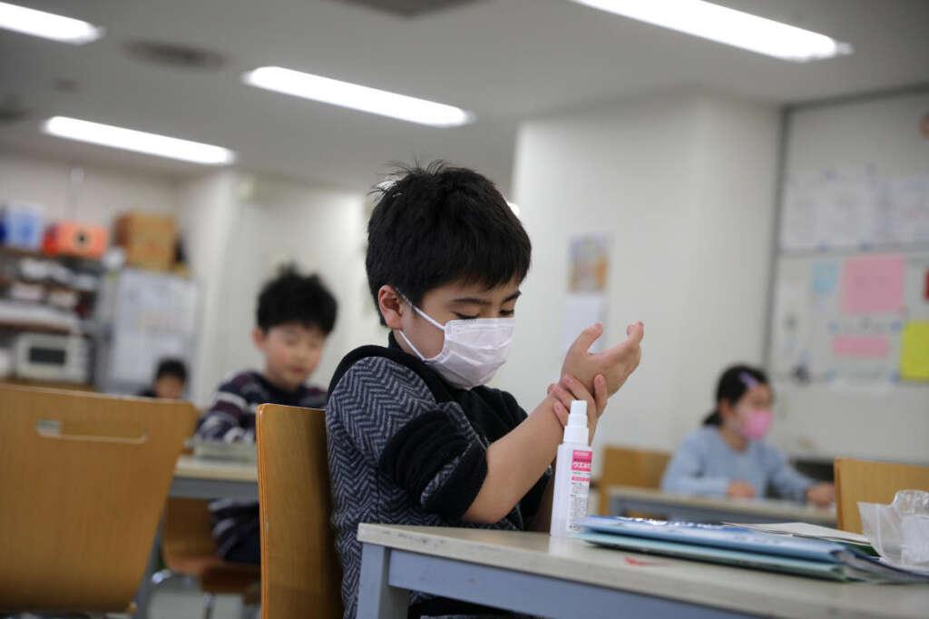 Fighting, coronavirus, Arm kids, masks, sanitisers, combat Covid-19, UAE