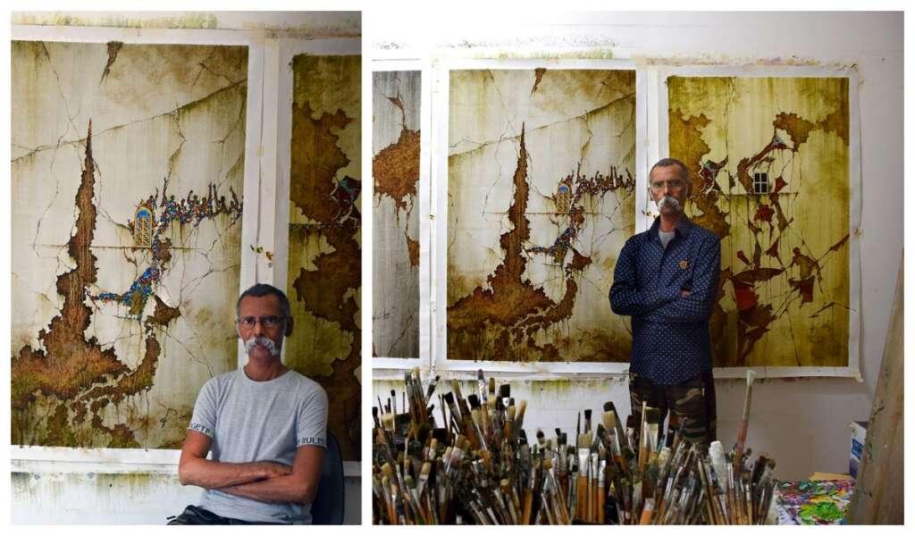 Hope Probe, inspired, Dubai, artist, devise, new form, painting