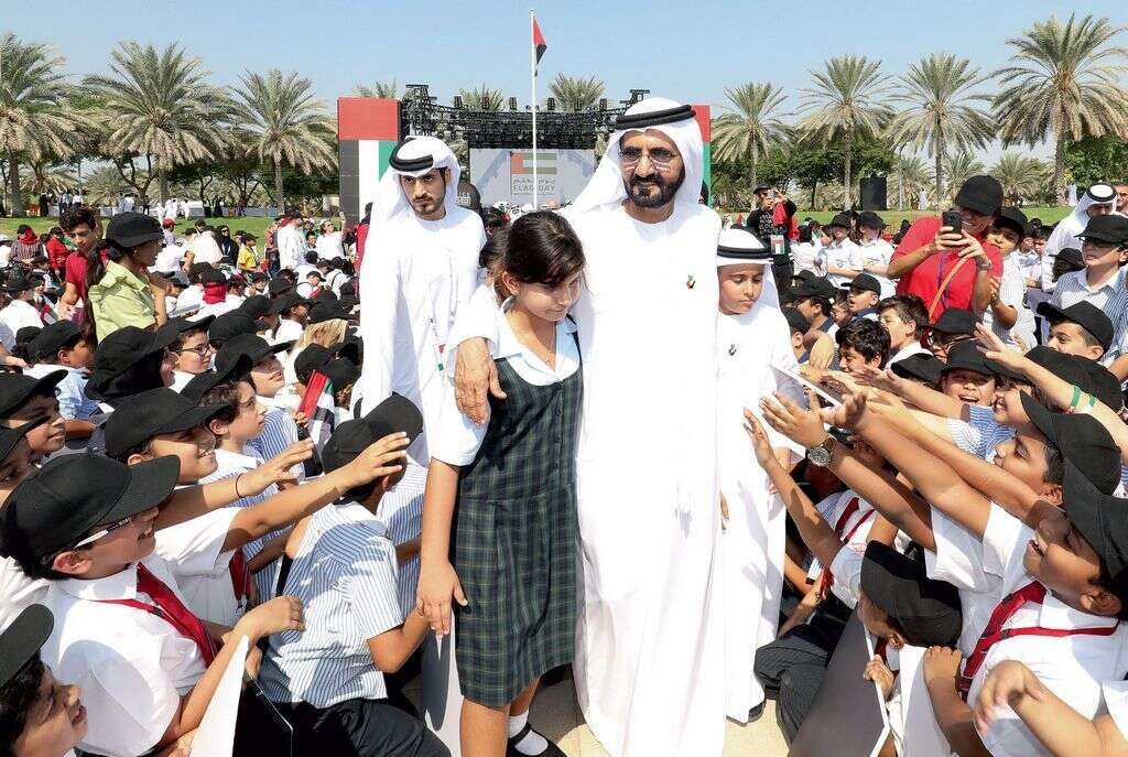 Over 100 nationalities unite to celebrate UAEs flag