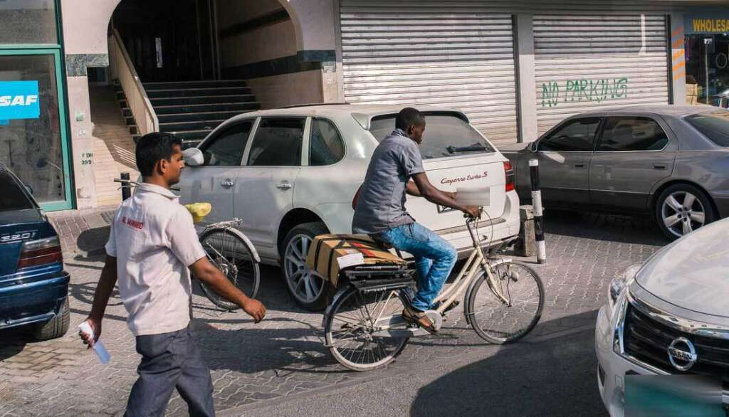 The crackdown on cyclists and bikers aims at reducing accidents caused by their irresponsible behaviour.- Alamy Image
