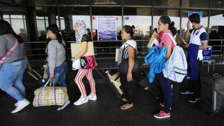 Police urge Filipino expat community to help fight human trafficking