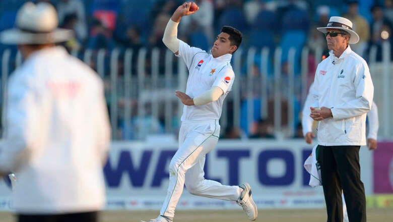 naseem shah, youngest, test, hat trick, cricket, youngest, record
