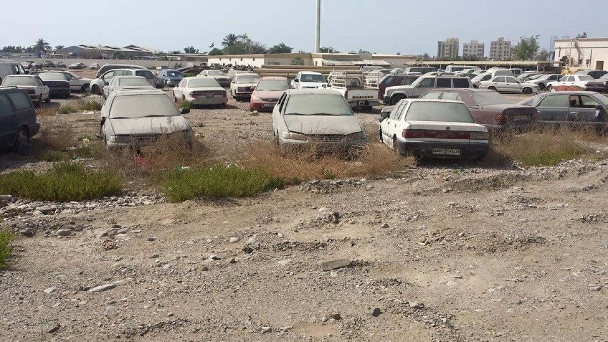 224 abandoned vehicles impounded in RAK