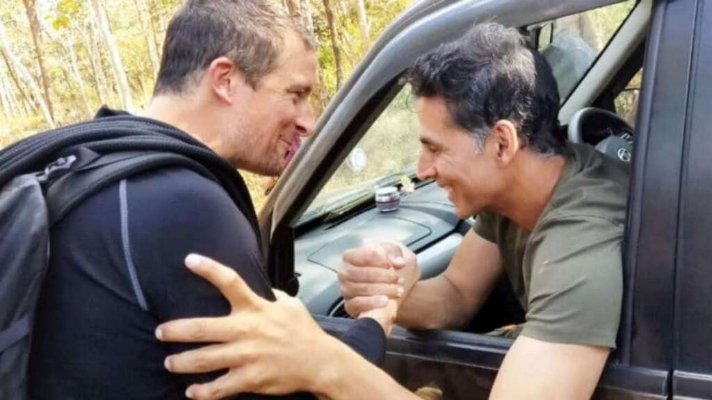 Akshay Kumar, Bear Grylls, Into the wild with Bear Grylls, show, episode, Discovery, channel, India, preview, Instagram, Bollywood, actor