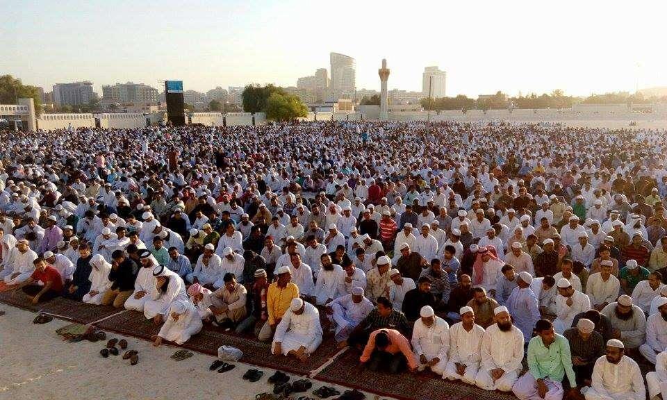 UAE rulers perform Eid Al Adha prayer
