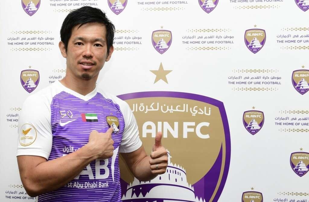 Al Ain reward Shiotani with contract extension