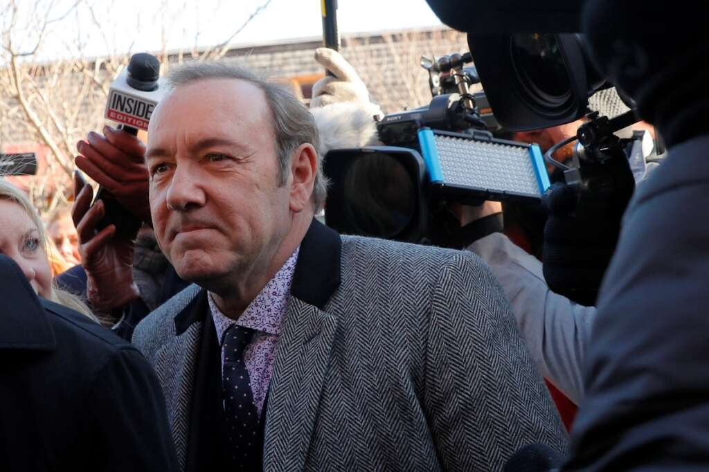 Kevin Spacey charged with indecent assault in groping case