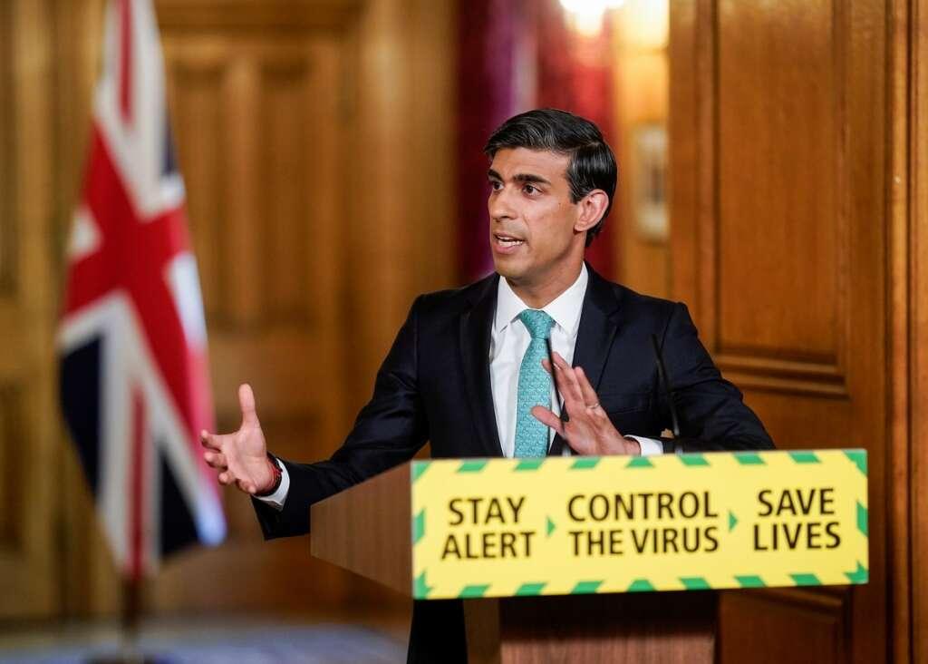 British finance minister, Rishi Sunak, hope, employers, hammered, coronavirus, shutdown, wage, subsidy, scheme