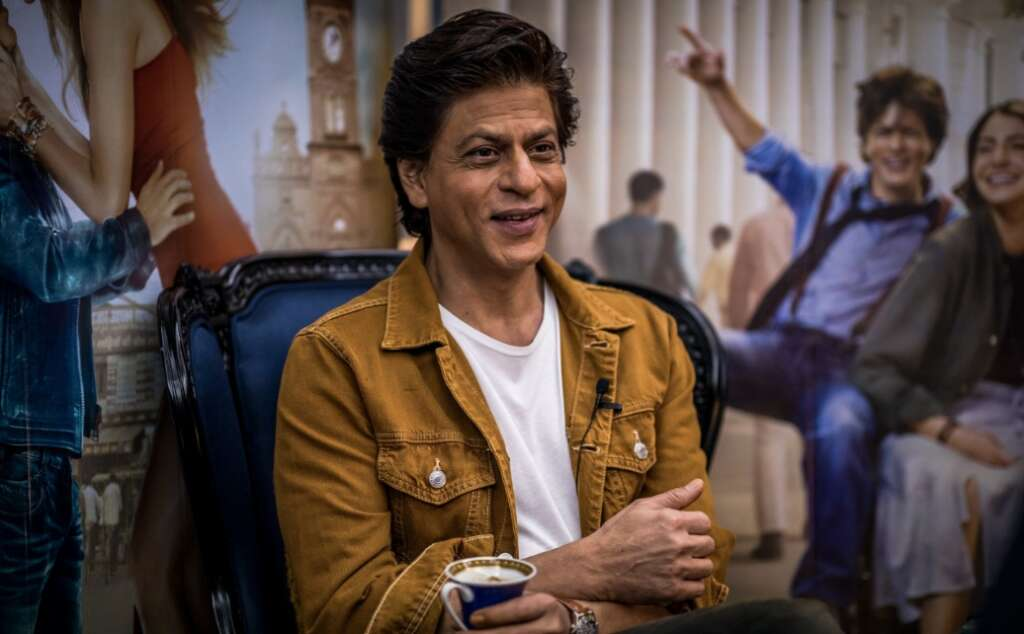 Shah Rukh Khan shrugs off fall from Forbes rich list