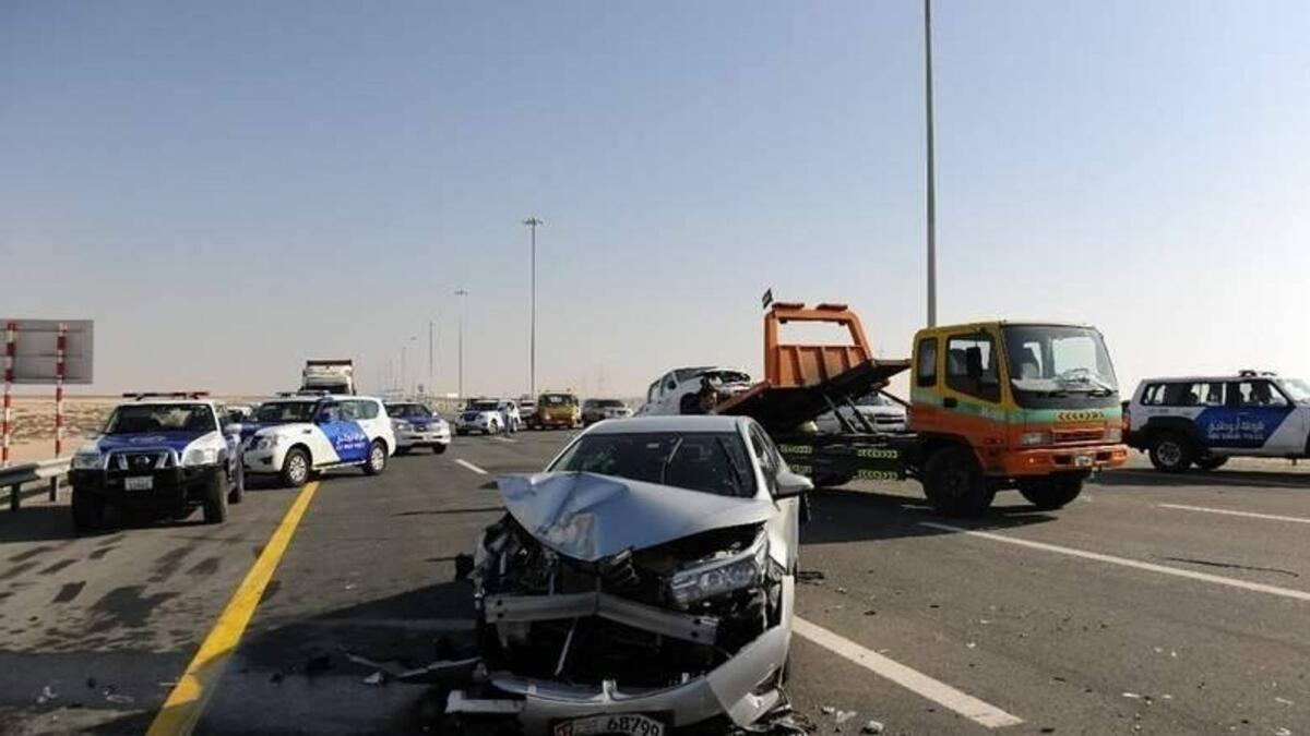 UAE: Motorist ordered to pay Dh20,000 for deliberating crashing into another car