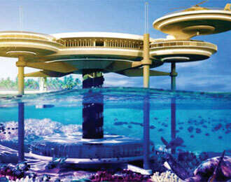 Dubai deal on underwater hotels and floating cities