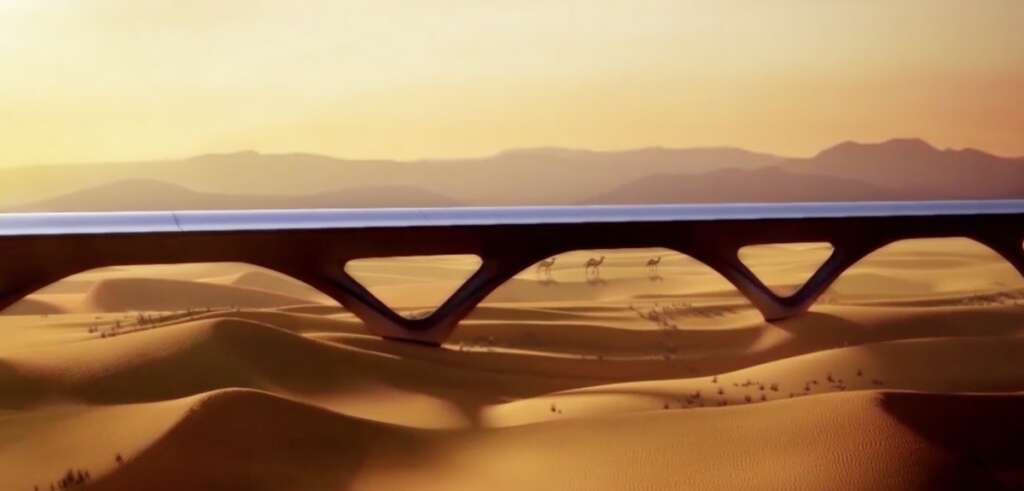 Hyperloop Transportation Technologies moves forward with first commercial Hyperloop system in UAE