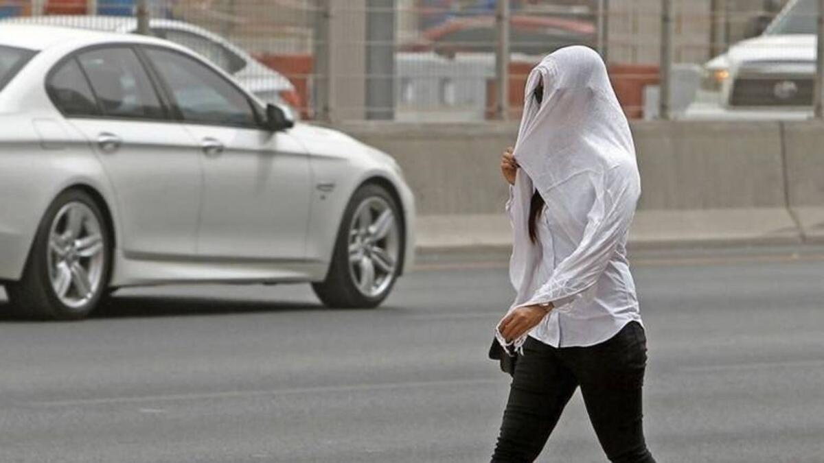 UAE weather: Partly cloudy, hazy forecast for Wednesday