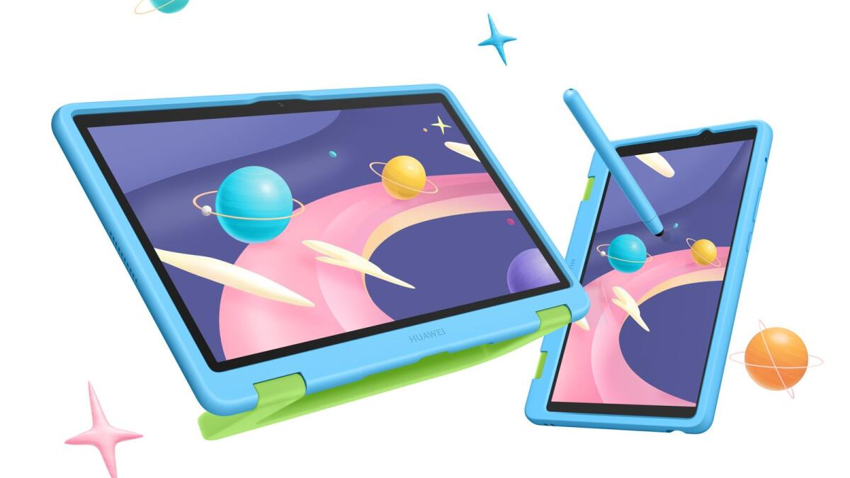 The tablets come with a kid's friendly design and accessories, rich educational content, eye comfort and parental assistant features