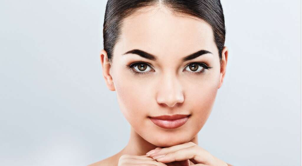 Use Castor oil and rosemary oil for scanty brows