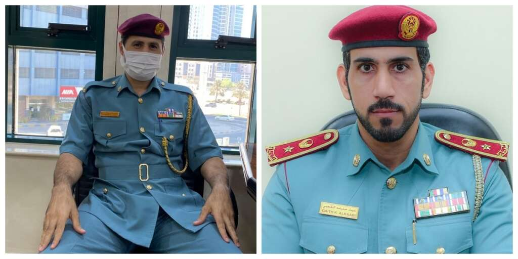 UAE, police officer, spent, 3 months, finding, woman, lost, Dh700