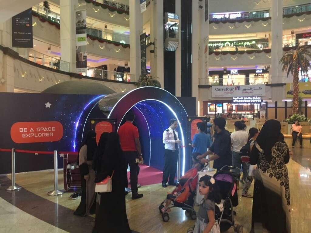 Video: Children become astronauts in this mall in Dubai