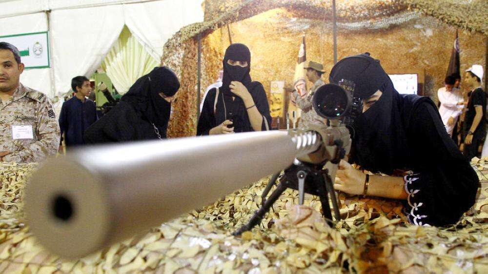 saudi woman in armed forces