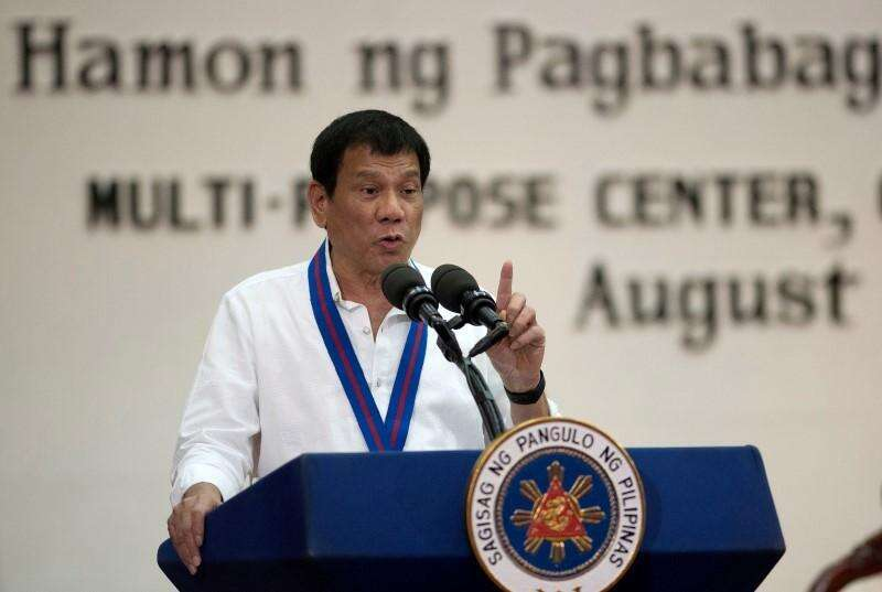 Philippine President Duterte, Philippine, covid-19