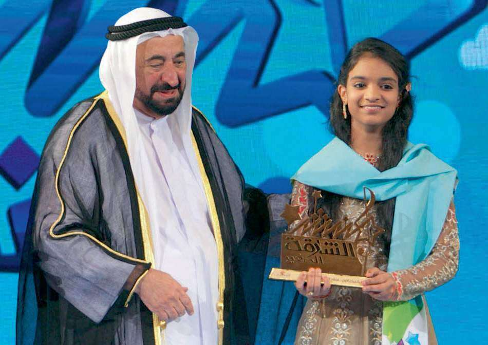 13-year-old Indian girl wins Sharjah Arabic reality contest