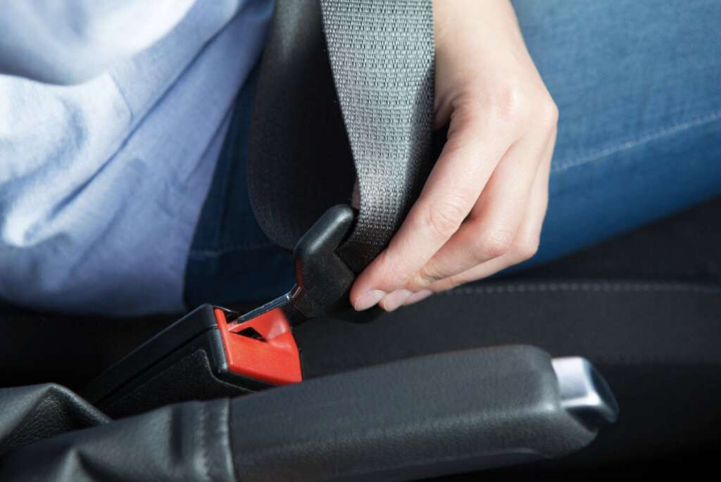 Over, 316,000, fined, two years, not buckling up, UAE