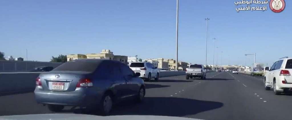 Abu Dhabi Police, fine, driving, speed