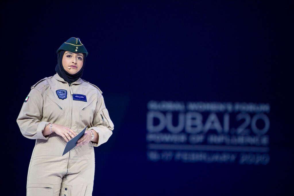 Capt Mozah, UAE royal,  Dubai, first, female, police pilot,  Capt Sheikha Mozah bint Marwan Al Maktoum,