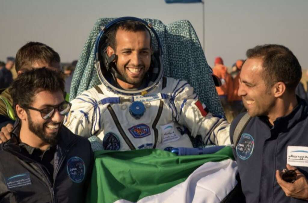 UAE first astronaut, Hazzaa Al Mansoori, Sultan Al Neyadi, Reach for the Stars, space