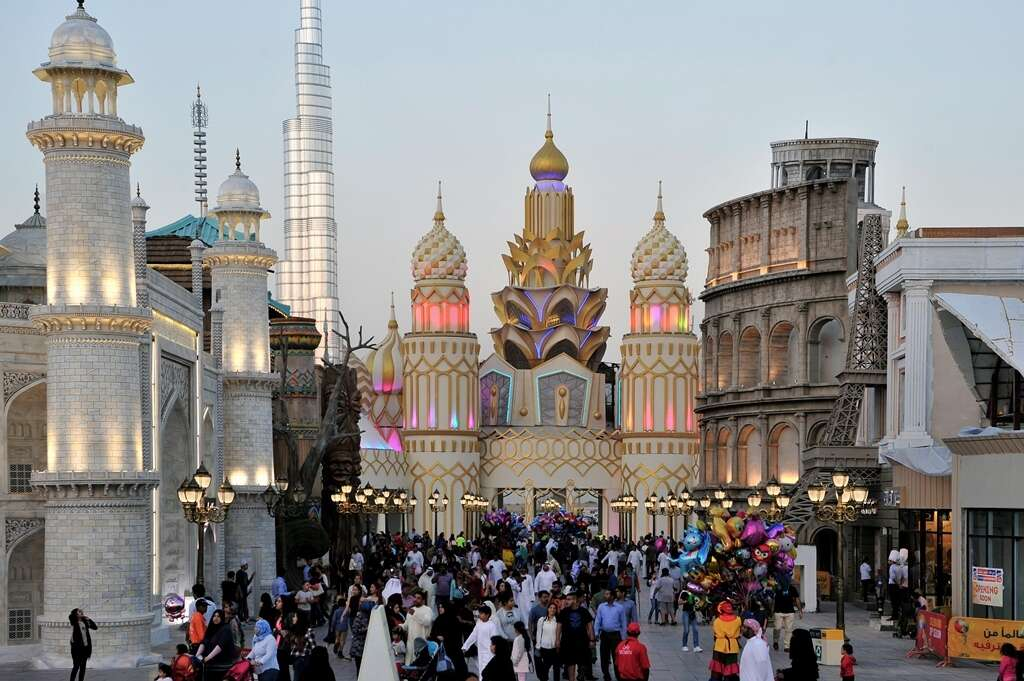 Record 400,000 flock to Global Village on National Day break