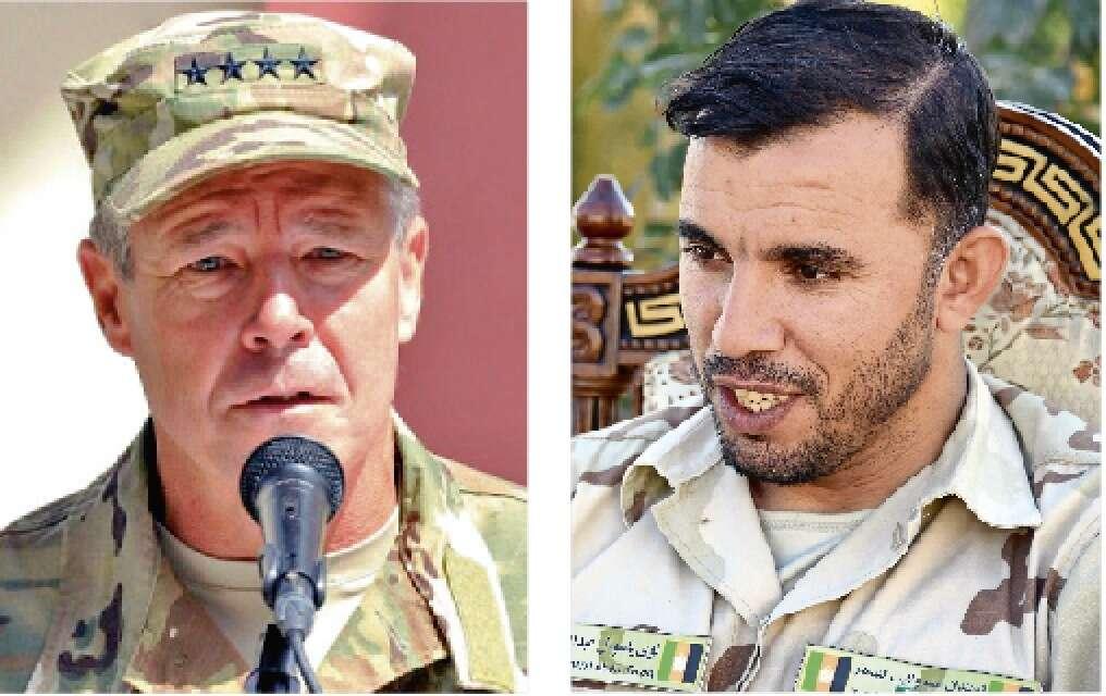Guard kills top Afghan cop, US general unhurt