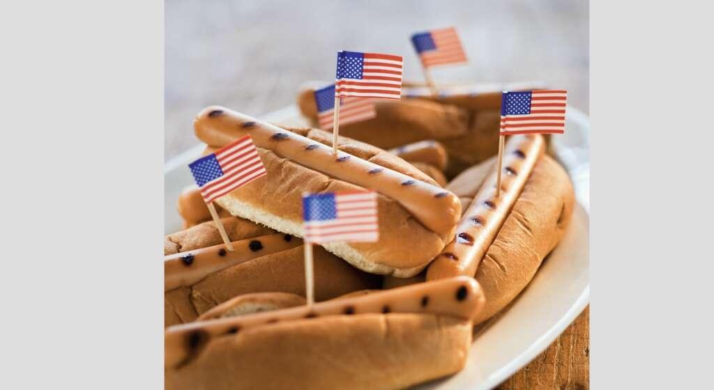 A festive feast on Fourth of July