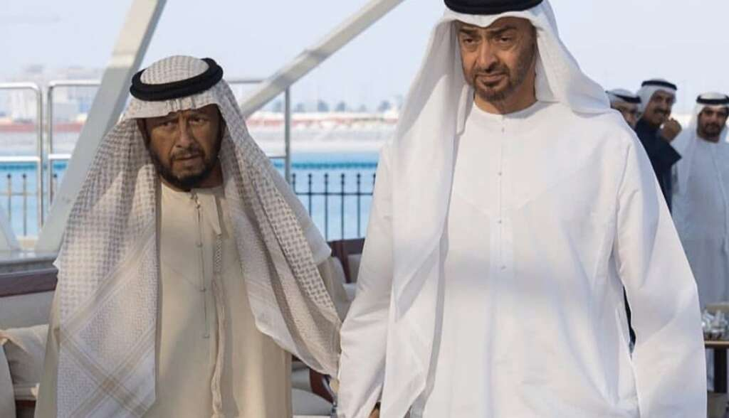 sheikh mohamed bin zayed, mourn, brother's death, uae royal, sheikh khalifa, mourning, brother, sheikh sultan, passes away, uae royal, abu dhabi, flags, half mast, the president's brother, sheikh khalifa's brother