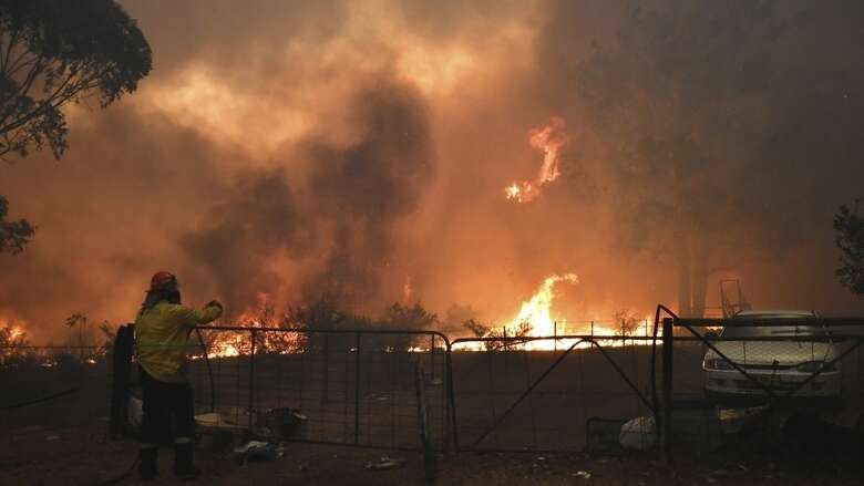 australia, uae, pm, prime minister, support, fight, bushfire