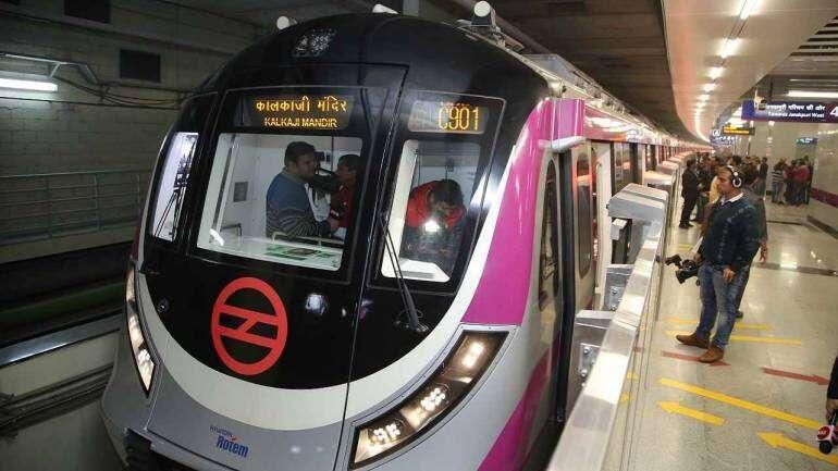Cancer patient, Delhi metro