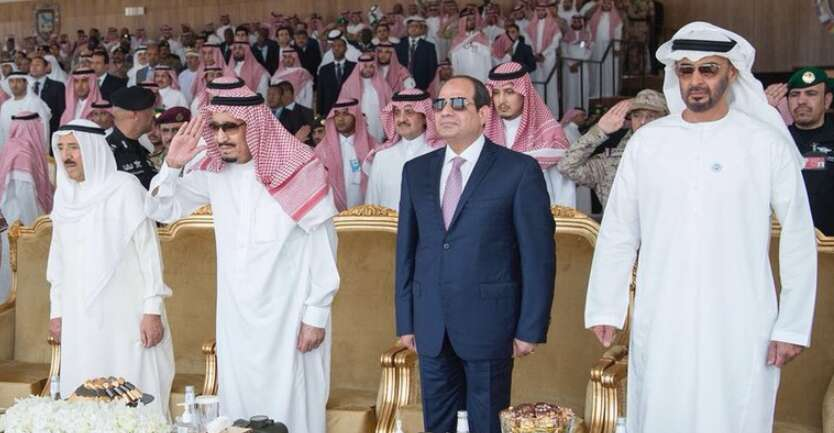 Arab leaders attend Joint Gulf Shield I drill