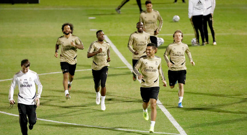 Real Madrid gear up to take on Atletico in Super Cup final in Saudi Arabia