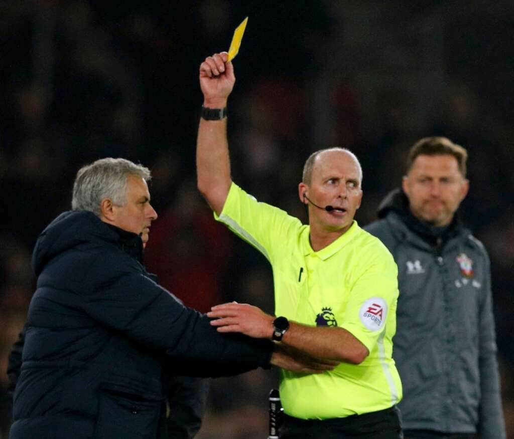 I was rude to an idiot: Mourinho on his yellow card