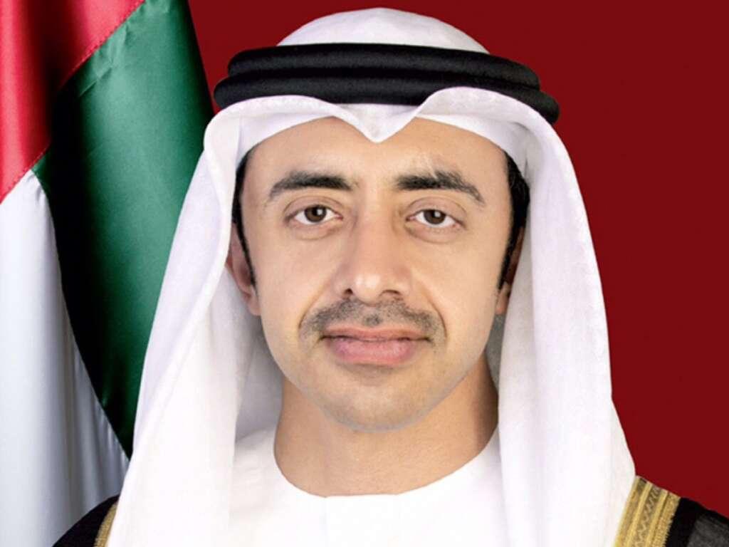 Sheikh Abdullah, hails, Arab-Chinese, China, UAE, co-operation, relations