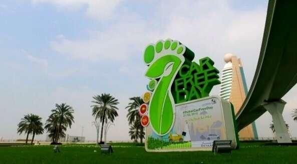 Dubais car-free day on February 21 gains speed