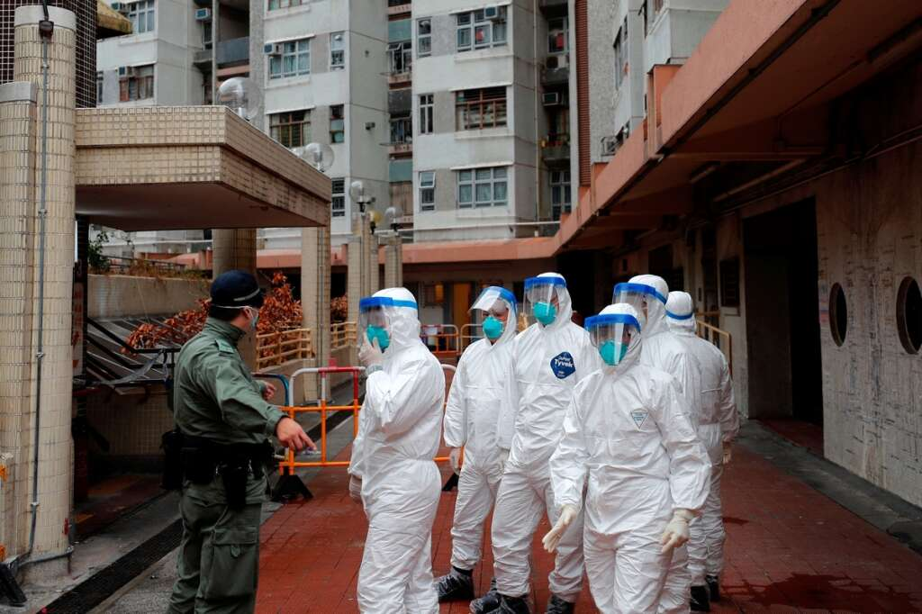 Coronavirus, Residents, evacuated, Hong Kong, apartments, test, negative, coronavirus