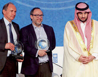 Web inventor, Wiki co-founder share $1m Knowledge Award