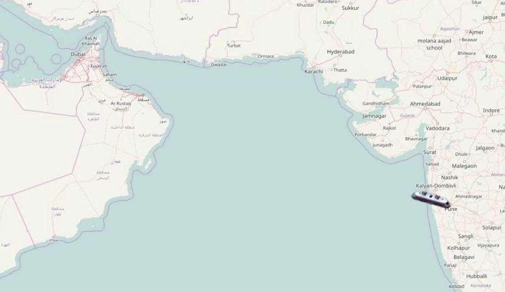 Underwater rail travel between UAE and Mumbai?